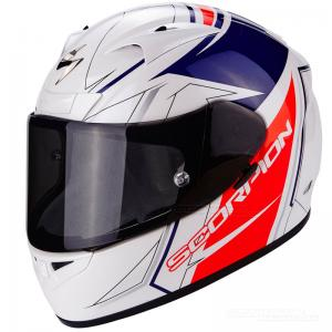 Scorpion EXO-710 AIR (LINE) White, Red, Blue