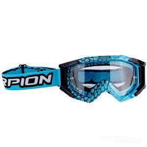 Scorpion Goggles (E16) Blue Cyan