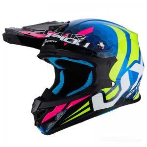 Scorpion VX-21 AIR (Xagon) Blå, Neongul