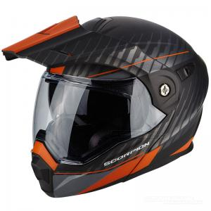 Scorpion ADX-1 (Dual) Mattsvart, Orange