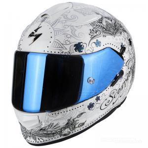 Scorpion EXO-510 AIR (Azalea) Pärlvit, Silver
