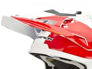 Scorpion Skärm (VX-15 EVO AIR, GRID) Pärlvit, Röd, Blå