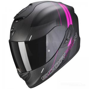 Scorpion EXO-1400 CARBON AIR (Drik) Mattsvart, Rosa