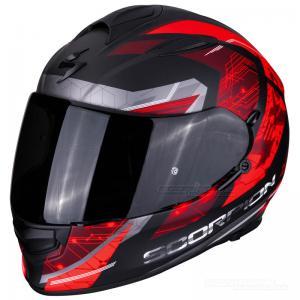 Scorpion EXO-510 AIR (Clarus) Mattsvart, Röd