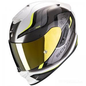 Scorpion EXO-1400 MC-Hjälm (Attune) Vit, Neongul