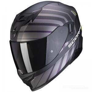 Scorpion EXO-520 Integralhjälm (Shade) Mattsvart, Neongul