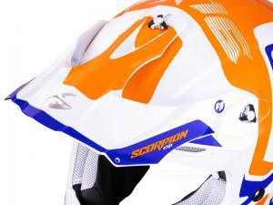 Scorpion Skärm (VX-16 AIR, Ernee) Pärlvit, Orange, Blå