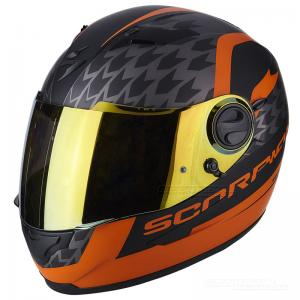 Scorpion EXO-490 (Genesi) Mattsvart, Orange