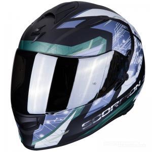 Scorpion EXO-510 AIR (Clarus) Mattsvart, Silver