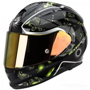 Scorpion EXO-510 AIR (Xena) Svart, Neongul