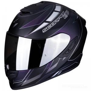 Scorpion EXO-1400 AIR (CUP) Mattsvart, Kameleont, Silver