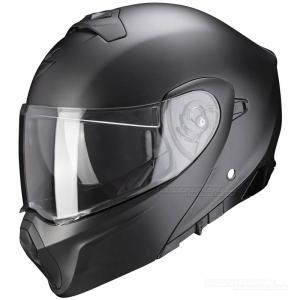 Scorpion EXO-930 Öppningsbar hjälm (Solid) Mattsvart Pärleffekt