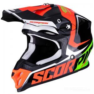 Scorpion VX-16 AIR (Ernee) Svart, Neonröd, Grön