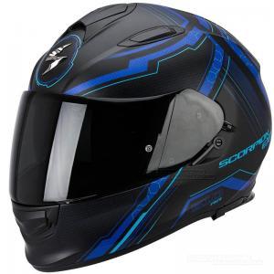 Scorpion EXO-510 AIR (Sync) Mattsvart, Blå
