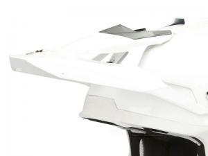 Scorpion Skärm (VX-15 EVO AIR, Solid) Vit