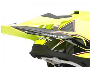 Scorpion Skärm (VX-15 EVO AIR, Magma) Neongul