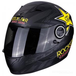 Scorpion EXO-490 (Rockstar) Mattsvart, Gul, Röd