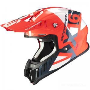 Scorpion VX-16 AIR (Mach) Neonröd, Vit