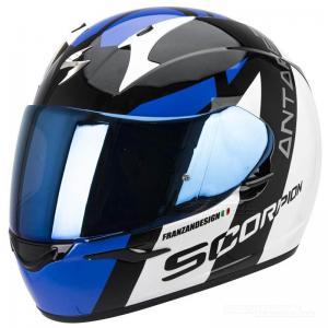 Scorpion EXO-410 AIR (Antares) Vit, Svart, Blå
