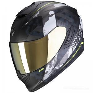 Scorpion EXO-1400 AIR (Sylex) Mattsvart, Silver