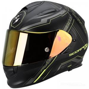 Scorpion EXO-510 AIR (Sync) Mattsvart, Neongul