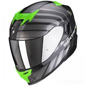 Scorpion EXO-520 Integralhjälm (Shade) Svart, Grön