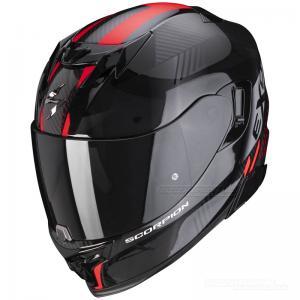 Scorpion EXO-520 Integralhjälm (Laten) Svart, Röd