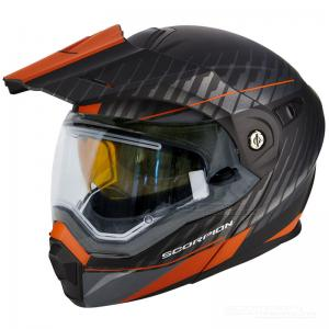 Scorpion ADX-1 Winter (Dual) Mattsvart, Orange